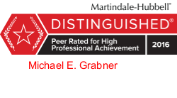 Martindale-Hubbell, Peer Review Rated, Distinguished